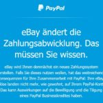 Ebays neue Zahlungsabwicklung- Paypal not amused