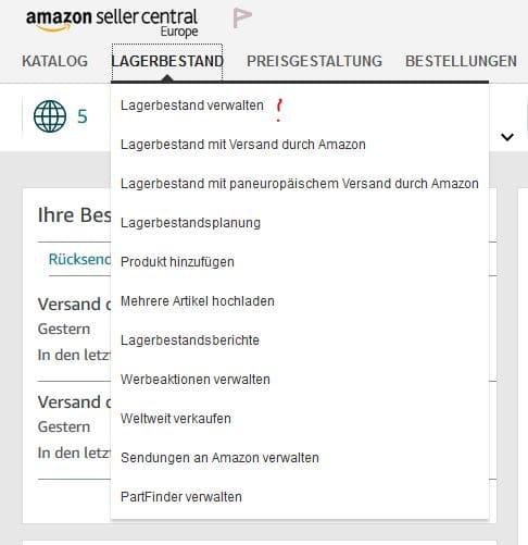 Versand durch Amazon